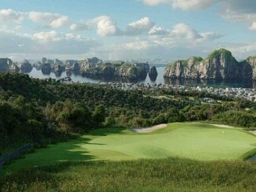 First golf course being built at Halong Bay