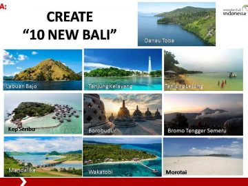"A new approach to ""save"" the Island of Bali, it must become a quality destination"