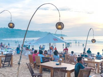 A hot Bali spared effects of Lombok quakes