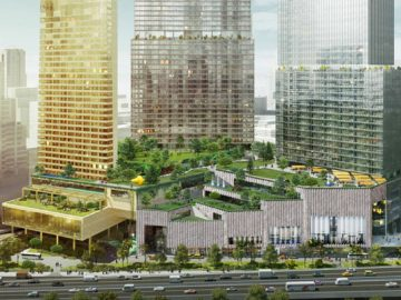 Concept art of Dusit mixed-use project