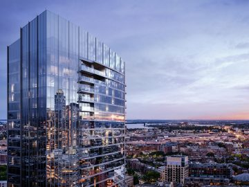 Raffles Boston Back Bay Hotel & Residences; scheduled to open in 2021 (CNW Group/Raffles Hotels & Resorts)